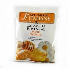 Карамельные конфеты Specialita Le Italiane с медом без глютена и красителей 100г