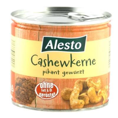 Горіхи кешью Alesto смажені пікантні 150 г (ж/б)
