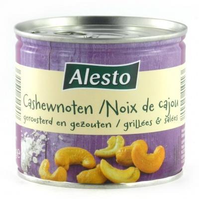 Горіхи кешью Alesto зі сіллю 150 г
