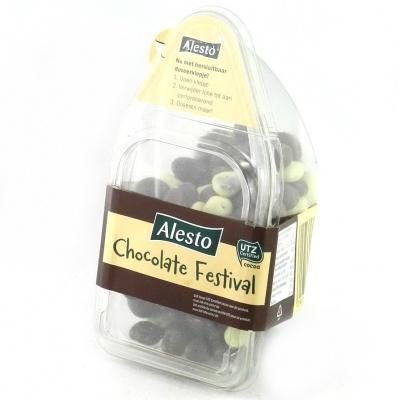 Суміші горіхів Alesto Chocolate Festival 300 г (родзинки і арахіс в шоколаді)