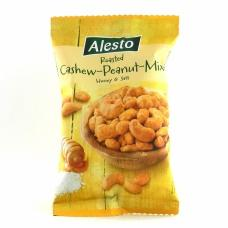 Горіхи кешью та арахіс Alesto з медом та сіллю 200г