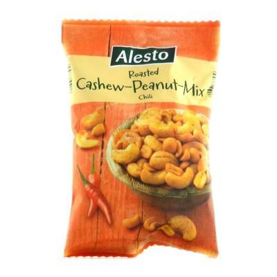 Горіхи кешью та арахіс Alesto чилі 200 г