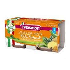 Plasmon verdure miste 2/80 г (овочеве)