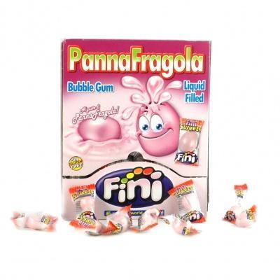 Жуйка Fini Panna Fragola 5 г