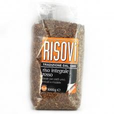 Рис Risovi 1 кг (червоний цільний)