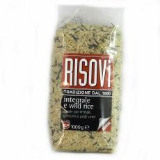 Рис Risovi Integrale e wild rice 1 кг