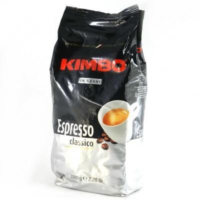 Кава в зернах Kimbo espresso classico 1 кг