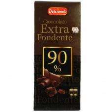 Шоколад Dolciando Extra Fondente 90% какао 100г