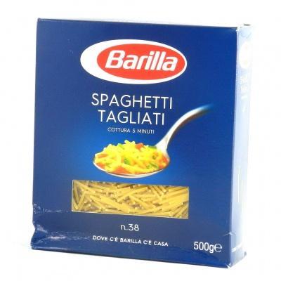 Класичні Barilla spaghetti tagliati n.38 0.5 кг