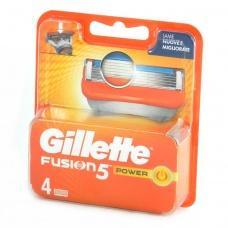 Змінні касети для бриття Gillette Fusion5 power 4 шт
