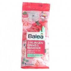Жіночі станки для гоління Balea з алоє вера та вітаміном Е 2 леза 5шт