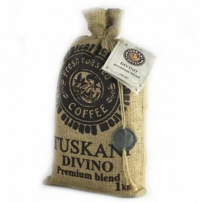 Кава в зернах Tuskani Divino 60% premium arabica 40% robusta 1 кг