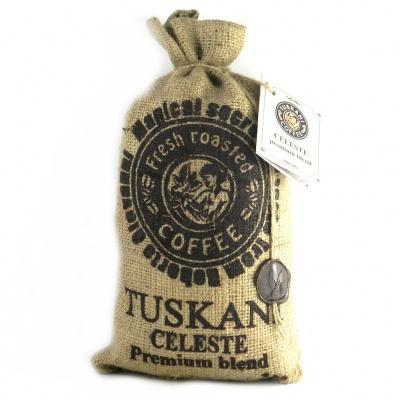 Кава в зернах Tuskani Celeste 90% premium arabica 10% robusta 1 кг