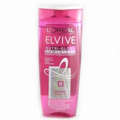 Шампунь Loreal paris Elseve nutri gloss для блиску волосся 250мл
