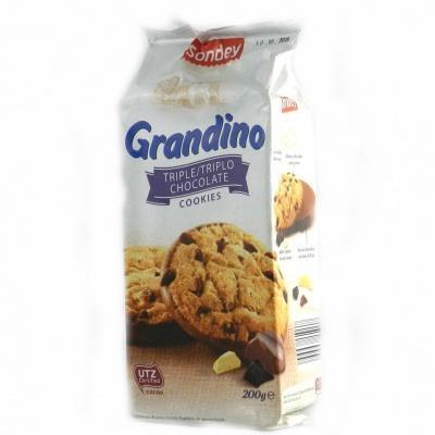 Печиво Sondey Grandino шоколадне 200 г