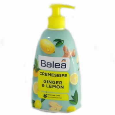 Рідке мило Balea cremeseife лимон та імбир 0.5л