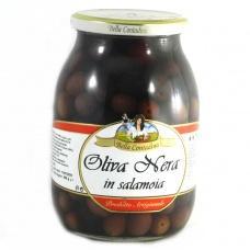 Bella Contadina Oliva nera in salamoia 0.6 кг