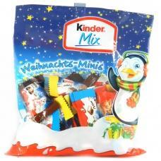 Kinder mix Різдвяні міні 156 г