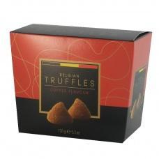 Цукерки шоколадні Truffles coffee flavour 150г