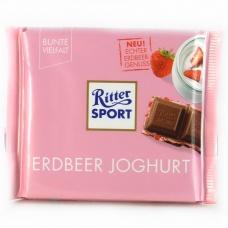 Шоколад Ritter Sport erdbeer joghurt 100г