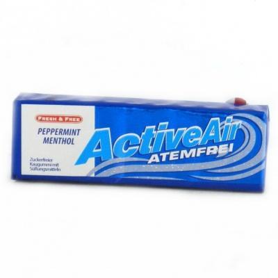 Жуйки Active Air atemfrei menthol 14 г