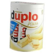 Ferrero duplo white батончики 10 шт 182 г