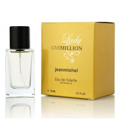 Парфумована вода жіноча Jeanmishel lovemillion 60мл
