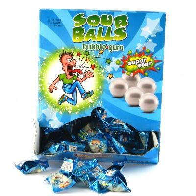 Жуйка Sour balls 3.5 г