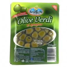 Оливки зелені aria Gusto без кісточки 150г