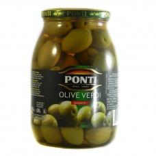 Ponti olive verdi giganti з кісточкої 1 кг
