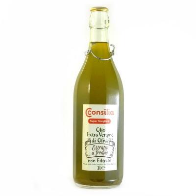 Оливкова Consilia olio extra vergine di oliva 1 л (не фільтрована)