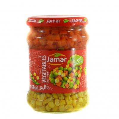 Овочі Jamar з морквою та кукурудза 470 г