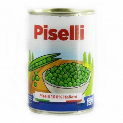 Горох Piselli зелений 400 г