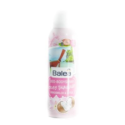 Дезодорант Balea Cosy Тhailand жiночий кокос та лотос 200мл