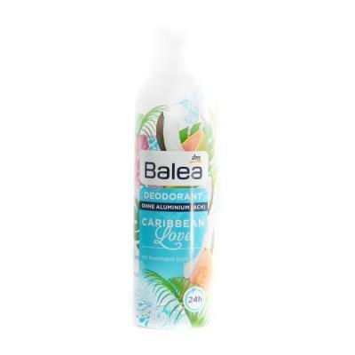 Дезодорант Balea Caribbean Love жiночий з фруктовим запахом 200мл