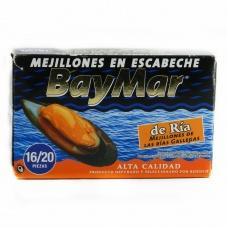 Bay Mar mejillones en escabeche 120 г