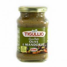 Tigullio з оливками та мигдалем 190 г