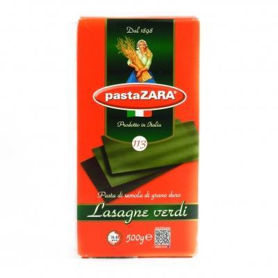 Лазанья pasta zara lasagne з шпинатом 500 г