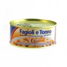 Тунець Athena fagioli e tonno з квасолею 160 г