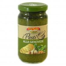 Соус Delizie dal Sole Pesto alla Genovese con basilico fresco 190г