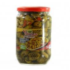 Оливки зелені Yunys без кістосчки на грилю 720г
