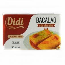 Тріска Didi bacalao в соусі з томатами і солодким перцем 120мл