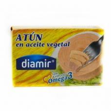 Тунець Diamir atun omega 3 в рослинній олії 216г
