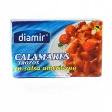 Кальмари Diamir calamares в американському соусі 110г