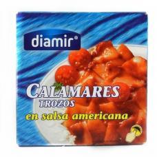 Кальмари Diamir calamares в американському соусі 266г