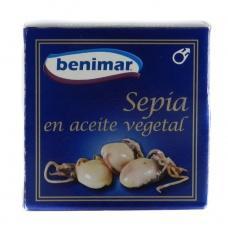 Каракатиця Benimar у рослинній олії 148г
