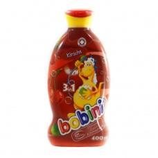 Шампунь-гель Bobini дитячий 3в1 вишневий 400мл