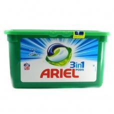 Капсули для прання Ariel pods 3in1 alpine 38шт