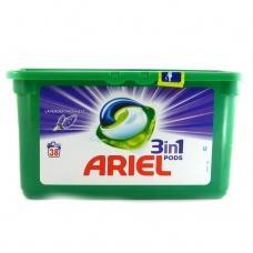 Капсули для прання Ariel pods 3in1 lavender freshness 38шт