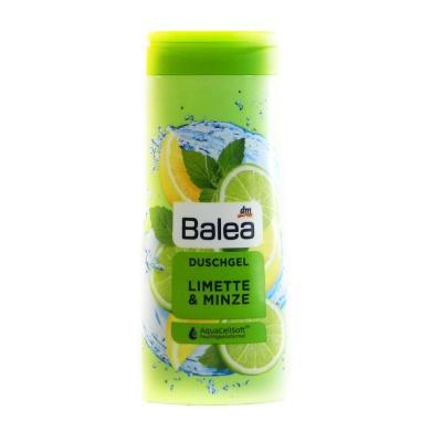 Гель для душу Balea duschgel limette minze 300мл